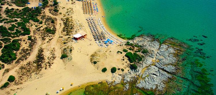 Παραλία Αμμολόφων